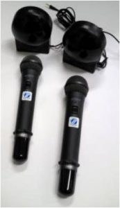 SONY製赤外線ワイヤレスマイク IFM-V1K